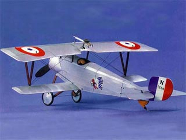 Nieuport 11 (oz8715) from Modelhob 1975