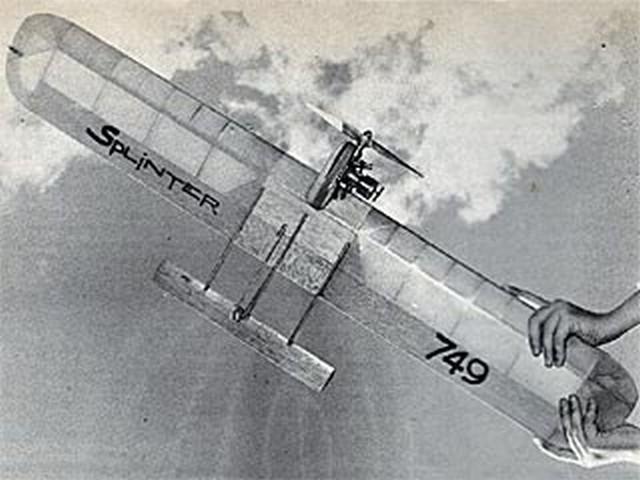 Splinter (oz8720) by Bill Netzeband from American Modeler 1967
