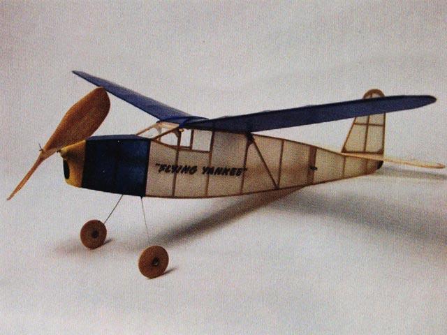 Flying Yankee (oz8738) by Donald Garofalow from Scientific 1939