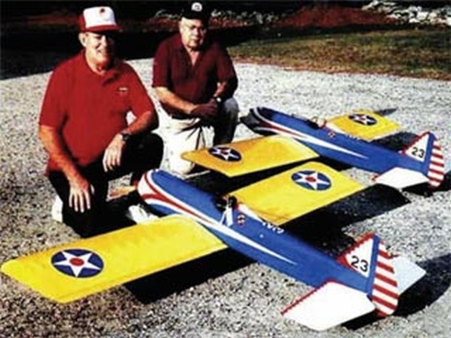 Giant Peashooter (oz8764) by Henry Haffke from Model Airplane News 1995