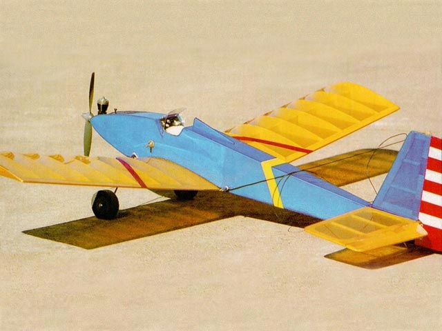 Bee-Tween (oz8770) by Randy Randolph from Model Airplane News 1991