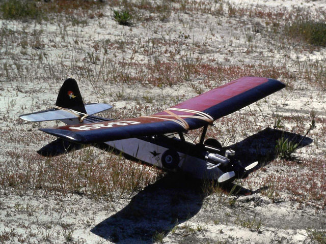 Barnstormer 52 - completed model photo