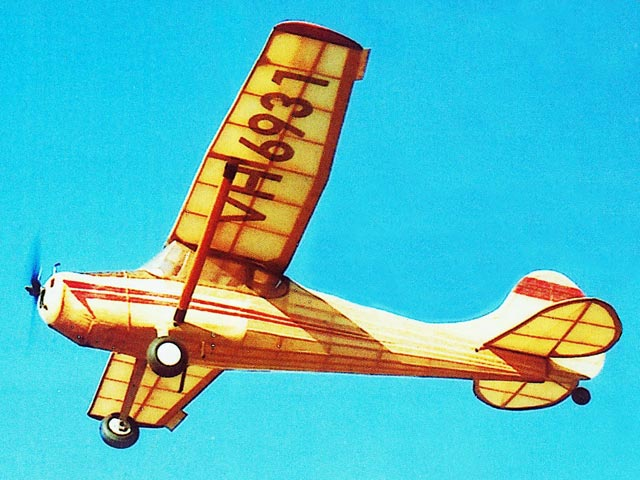 Cessna 170 (oz88) by Bill Dean from Keil Kraft 1956