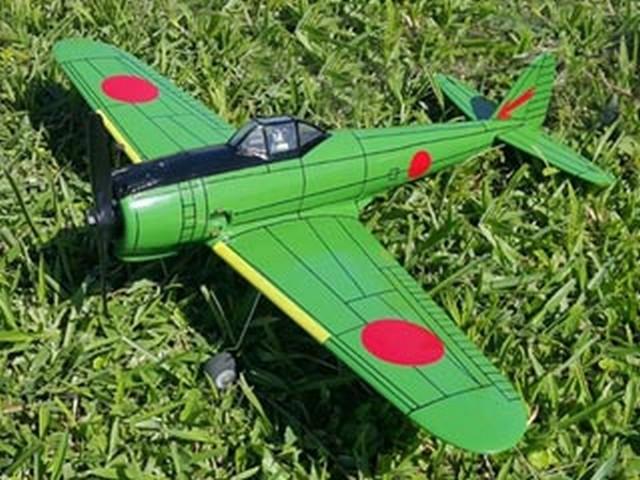 Nakajima Ki-43 Hayabusa (oz8806) by Sergio A Daeuble 2016