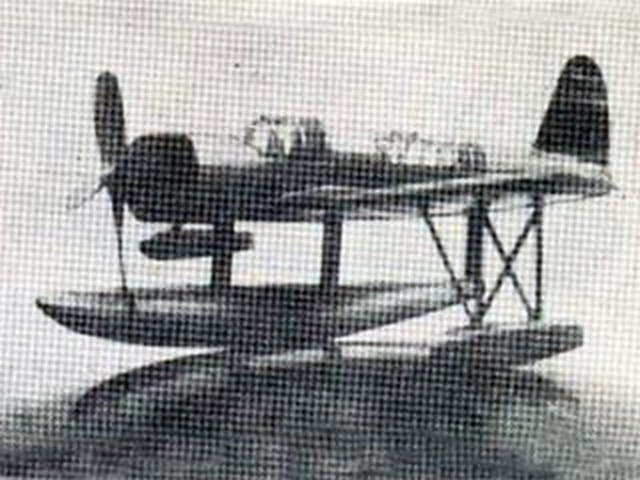 Vought Sikorsky OS2U-1 - completed model photo