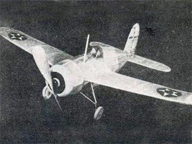Grumman XF4F-2 (oz8847) by Herbert K Weiss from Model Airplane News 1940