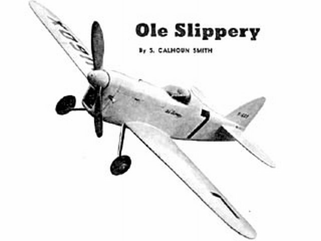 Ole Slippery (oz885) by S Cal Smith from Air Trails Annual 1952
