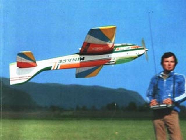 Minare (oz8866) by Hans Prettner, Hanno Prettner from Model Airplane News 1981