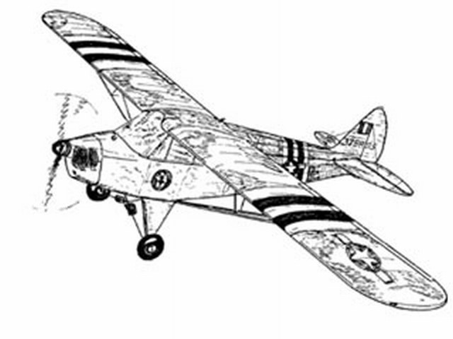 Piper Cub (oz8896) from Les Plans Guillemard