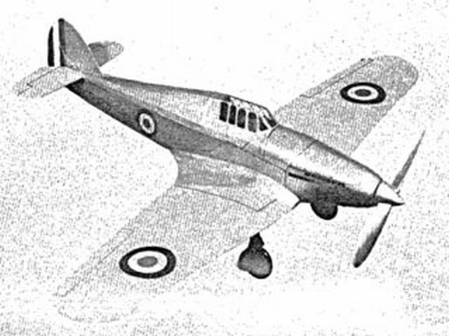 Hawker Fighter (oz8901) from Megow 1937