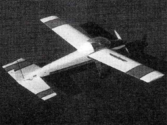 RB-59 Gladiator (oz8916) by Pavel Bosak from Model Aviation 1982