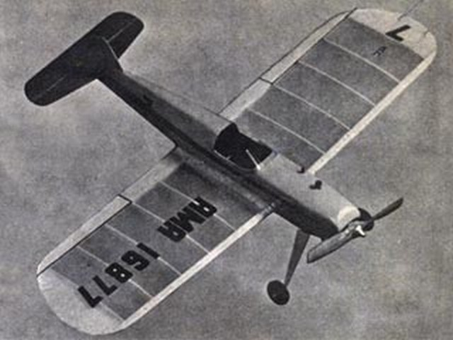 Blue Tail Fly (oz8944) by Vern Clements from Model Airplane News 1956