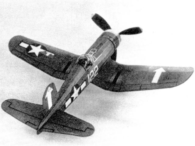 Corsair - completed model photo