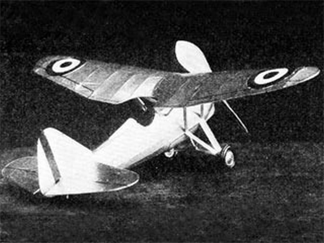 Dewoitine D-535 (oz8987) by Bill Winter from Model Airplane News 1936