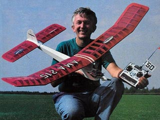 Frisco Kid (oz8998) by Bob Aberle from Flying Models 1989