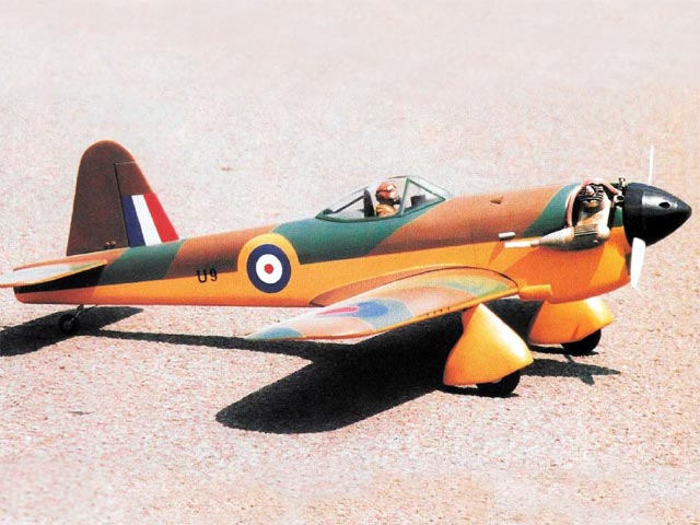 Miles M.20 (oz9004) by Gordon Whitehead from RCMplans 2001