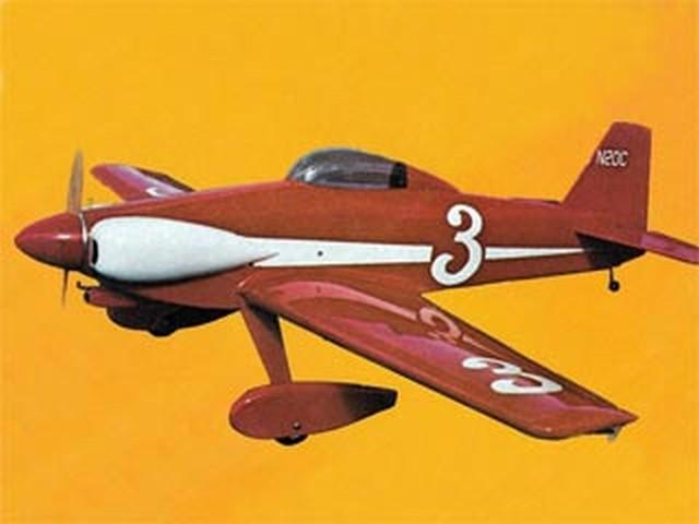 Miss Cosmic Wind (oz9009) by Dan Reiss from Flying Models 1978