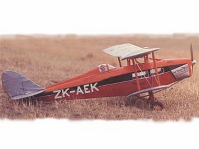 DH Fox Moth (oz9026) by David Hope-Cross from Aeromodeller 1983