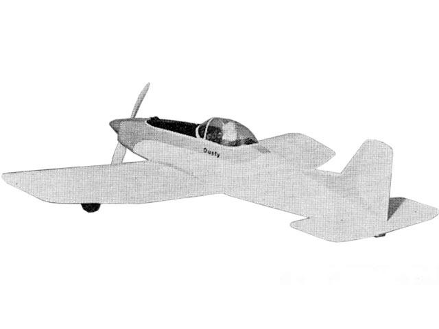 Dusty (oz9027) by WI Barrett from Aeromodeller 1967