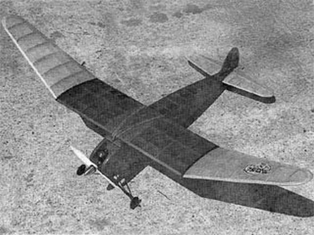 Rambler (oz9048) by Bob Isaacks from Flying Models 1990