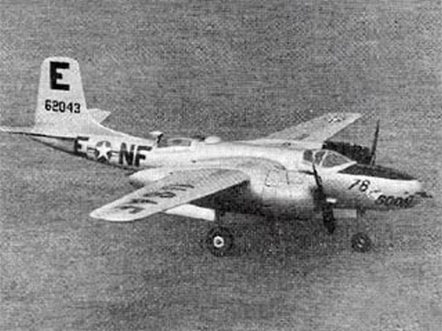 Douglas A-26 Invader - completed model photo