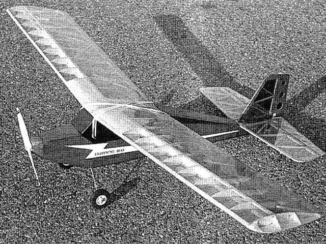Lightning Bug (oz9076) by Bill Winter from Flying Models 1991
