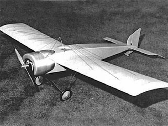 Morane Saulnier H (oz9094) by Don Martin from Flying Models 1983