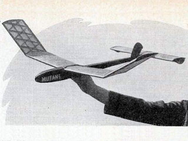 Mutant (oz9104) by WP Woodrow from Model Aircraft 1956