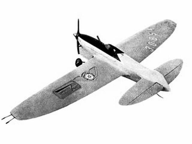 Aquarius (oz9109) by Brian Turner from Model Aircraft 1965
