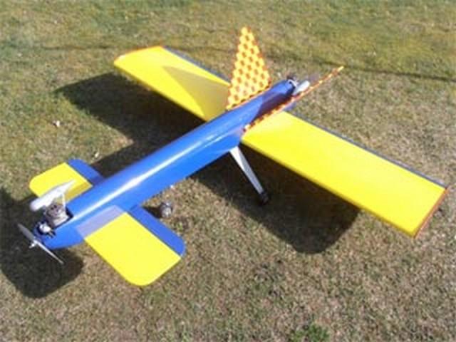 Sabrebat Two (oz9115) by Dan Reiss from Flying Models 1983