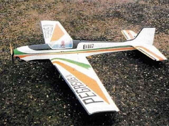 Pegasus II (oz9128) by Noel Barrett from RC Model World 1986