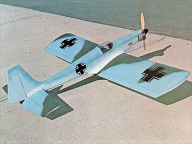 Pegasus Mark 4 - completed model photo