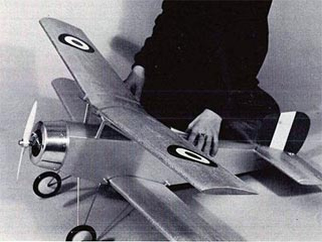 Nieuport (oz9172) by Bob Kendall from RCMplans 1968