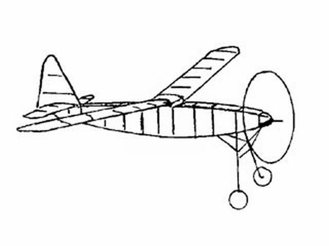 Robin (oz9185) by RFL Gosling from Aeromodeller 1936