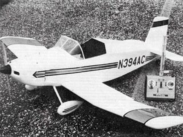 Thorp T-18 (oz9236) by Tony Lombardo from Flying Models 1979