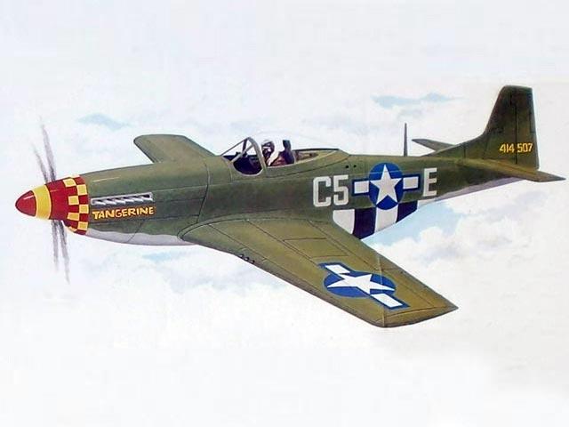 P-51D Mustang 60 (oz9237) from Royal Marutaka 1976