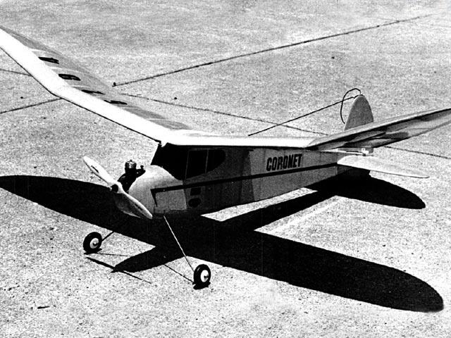 Coronet (oz9247) by Bob Peru from Flying Models 1992