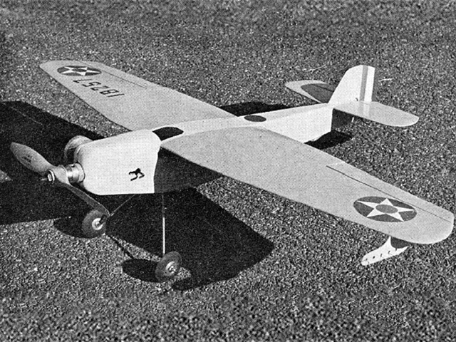 Martin MO-1 - completed model photo