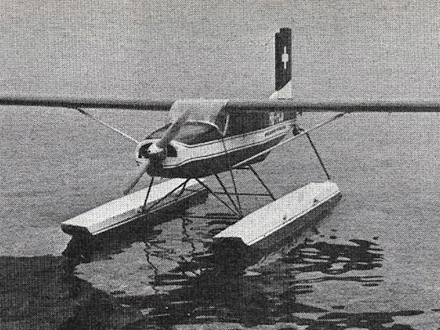 Pilatus Porter - completed model photo