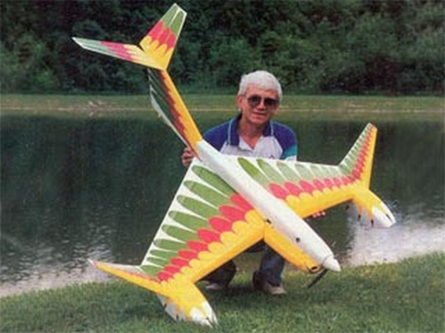 Aquabird (oz9311) by Laddie Mikulasko from RCMplans 1992