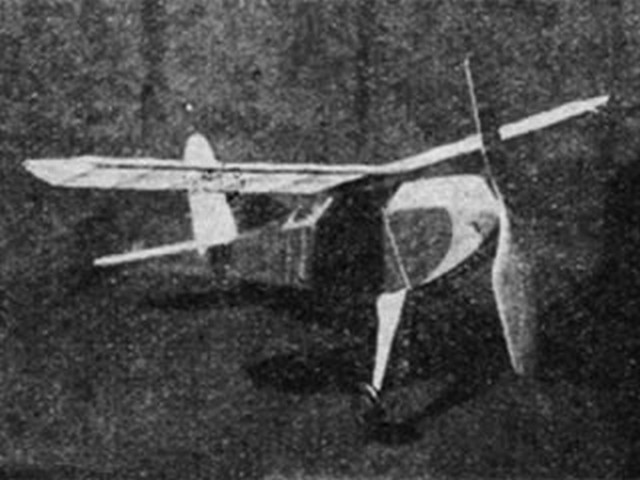 Flying Aces Sport Racer (oz9335) by Julius Unrath from Flying Aces 1934