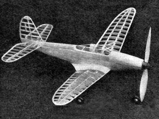 Airacobra (oz9397) by KH Hodgson from Aeromodeller 1943