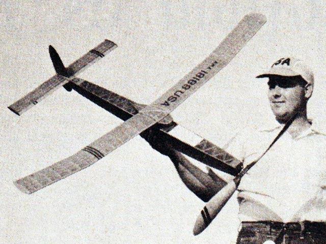 1953 Wakefield Winner - completed model photo