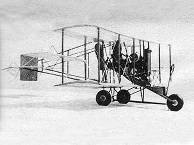 Curtiss Pusher (oz9415) by Henry Struck from Air Trails