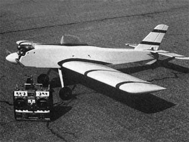Barnstormer RC (oz9448) by Dan Reiss from Flying Models 1989