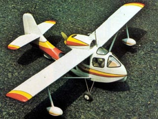 Republic SeaBee - completed model photo