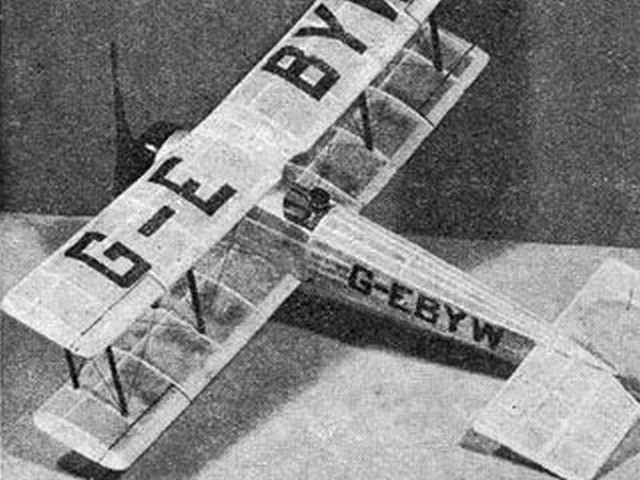 Avro 504K (oz947) by Ray Malmstrom from Model Engineer 1967