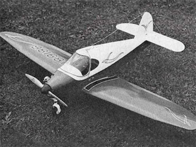 Culver V - completed model photo