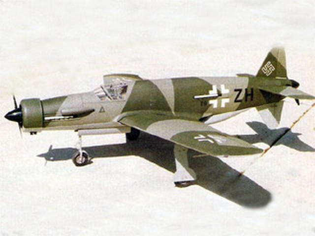 Dornier 335 - completed model photo
