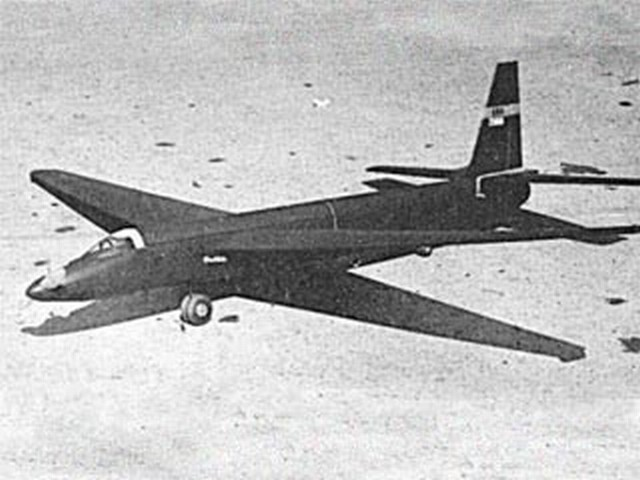 Lockheed U2 - completed model photo